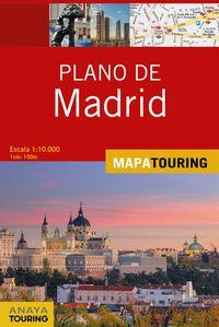 PLANO DE MADRID 1: 10000