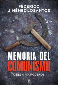 MEMORIA DEL COMUNISMO - DE LENIN A PODEMOS