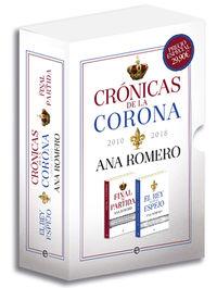 Cronicas De La Corona - Ana Romero
