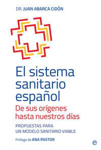 SISTEMA SANITARIO ESPAÑOL, EL