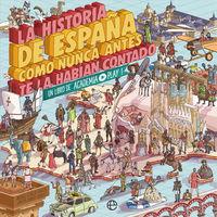 HISTORIA DE ESPAÑA COMO NUNCA ANTES TE LA HABIAN CONTADO, LA - UN LIBRO DE ACADEMIA PLAY