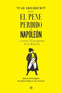 El pene perdido de napoleon - Ad Absurdum