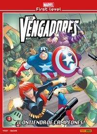 MARVEL FIRST LEVEL 6 - LOS VENGADORES: ¡CONTIENDA DE CAMPEONES!
