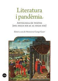 LITERATURA I PANDEMIA - ANTOLOGIA DE TEXTOS