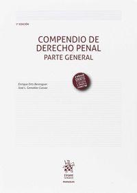 (7 ED) COMPENDIO DE DERECHO PENAL - PARTE GENERAL