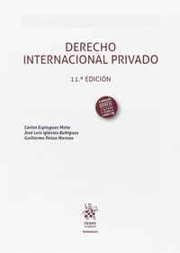 (11 ED) DERECHO INTERNACIONAL PRIVADO