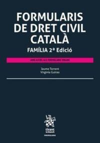(2 ED) FORMULARIS DE DRET CIVIL CATALA FAMILIA