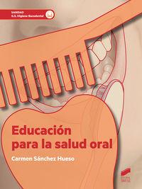 GS - EDUCACION PARA LA SALUD ORAL