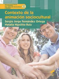 GS - CONTEXTO DE LA ANIMACION SOCIOCULTURAL