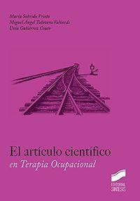 El articulo cientifico - Maria Sobrido Prieto
