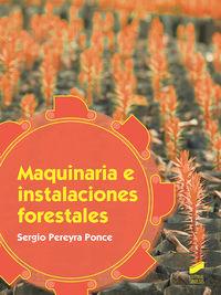 GM - MAQUINARIA E INSTALACIONES FORESTALES