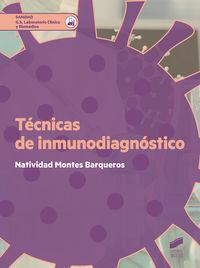 GS - TECNICAS DE INMUNODIAGNOSTICO