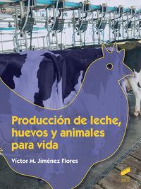GM - PRODUCCION DE LECHE, HUEVOS Y ANIMALES PARA VIDA