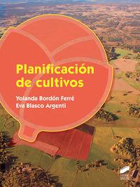 GS - PLANIFICACION DE CULTIVOS