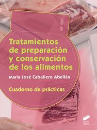 GS - TRATAMIENTO DE PREPARACION Y CONSERVACION - CUADERNO DE PRACTICAS