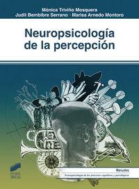 NEUROPSICOLOGIA DE LA PERCEPCION