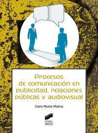 PROCESOS DE COMUNICACION EN PUBLICIDAD, RELACIONES PUBLICAS Y AUDIOVISUAL