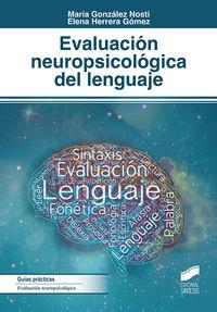 EVALUACION NEUROPSICOLOGICA DEL LENGUAJE