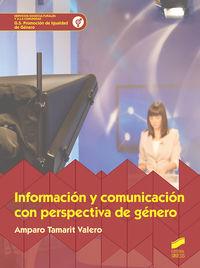GS - INFORMACION Y COMUNICACION CON PERSPECTIVAS DE GENERO - PROMOCION DE IGUALDAD DE GENERO