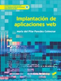 Gs - Implantacion De Aplicaciones Web - Maria Del Pilar Paredes Colmenar