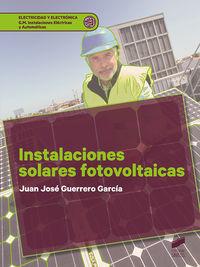 GM - INSTALACIONES SOLARES FOTOVOLTAICAS - INSTALACIONES ELECTRICAS Y AUTOMATICAS