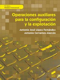 FPB - OPERACIONES AUXILIARES PARA LA CONFIGURACION Y LA EXPLOTACION - MODULO TRANSVERSAL - INFORMATICA Y COMUNICACIONES