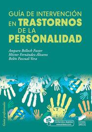 Guia De Intervencion En Trastornos De La Personalidad - Amparo Belloch
