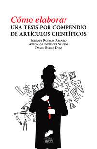 COMO ELABORAR UNA TESIS POR COMPENDIO DE ARTICULOS CIENTIFICOS