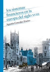SISTEMAS FINANCIEROS EN LA EUROPA DEL SIGLO XVIII, LOS