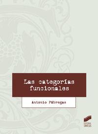 CATEGORIAS FUNCIONALES, LAS