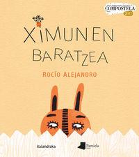 Ximunen Baratzea - (album Irudidunen Nazioarteko X Compostela Saria 2017) - Rocio Alejandro