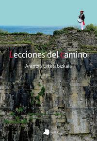 LECCIONES DEL CAMINO (PREMIO EUSKADI DE LITERATURA 2017)