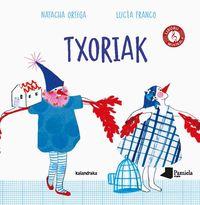 txoriak - Natacha Ortega / Lucia Franco (il. )