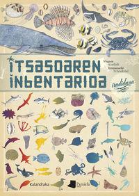 itsasoaren inbentarioa irudiduna - Virginie Aladjidi / Emmanuelle Tchoukriel (il. )
