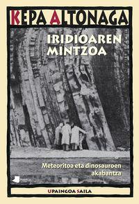 iridioaren mintzoa - meteoritoa eta dinosauroen akabantza - Kepa Altonaga