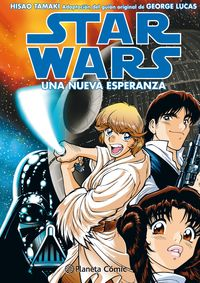 Star Wars Manga Ep Iv - Una Nueva Esperanza - Disney