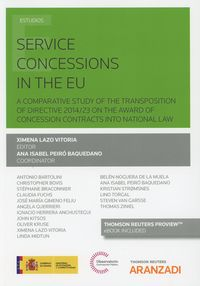 SERVICE CONCESSIONS IN THE EU (DUO)