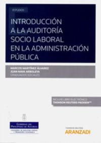 INTRODUCCION A LA AUDITORIA SOCIO LABORAL EN LA ADMINISTRACION PUBLICA (DUO)