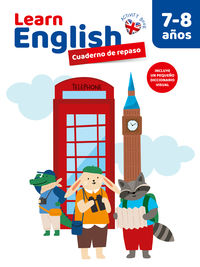 7 / 8 YEARS - LEARN ENGLISH - CUAD DE REPASO