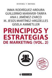 Principios Y Estrategias De Marketing 2 - I. Rodriguez / [ET AL. ]