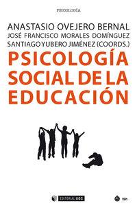 PSICOLOGIA SOCIAL DE LA EDUCACION