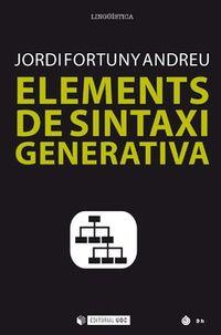 Elements De Sintaxi Generativa - Jordi Fortuny Andreu