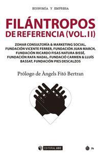 filantropos de referencia ii - Aa. Vv.