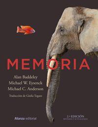 (2ed) Memoria - Alan Baddeley / Michael W. Eysenck / Michael C. Anderson