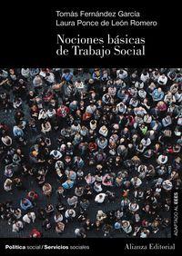 Nociones Basicas De Trabajo Social - Tomas Fernandez Garcia / Laura Ponce De Leon Romero