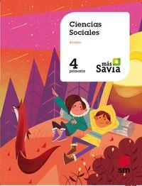EP 4 - SOCIALES (ARA) - MAS SAVIA
