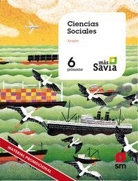 EP 6 - SOCIALES (ARA) - MAS SAVIA