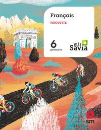 EP 6 - FRANCES (MUR) - PIROUETTE - MAS SAVIA