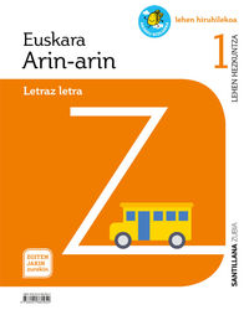 LH 1 - EUSKARA - ARIN-ARIN - EGITEN JAKIN ZUREKIN - PAUSOAK