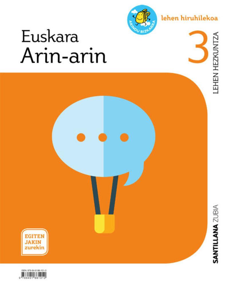 LH 3 - EUSKARA - ARIN-ARIN - EGITEN JAKIN ZUREKIN